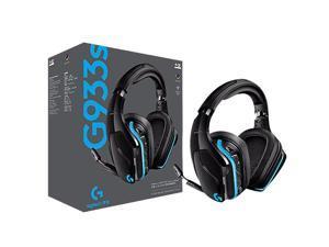 Logitech(G) G933S Wired Wireless Gaming Headset 2.4GHz wireless+ 3.5mm Audio Music 7.1 surround sound Mic Headphone