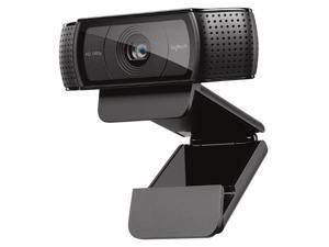 Logitech C920 Video Recording Auto Focus Webcam with 2 built-in Stereo Microphone Full HD 1080P 60 fps WEB Camera for Laptop/PC