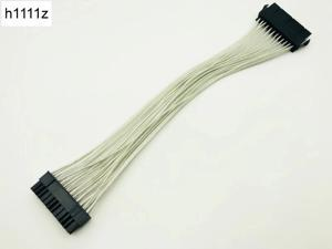 5PCS ATX 24 Pin Male to 24Pin Female Power Supply Extension Cable Internal PC PSU TW Power Connector Wire 24Pin Extension Cable