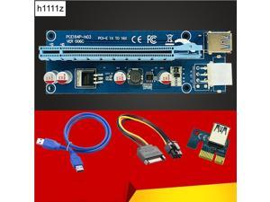 PCI-E Express X16 Extender Pci e Riser Card usb 3.0 pcie Mining Card Adapter for bitcoin miner mining BTC motherboard device