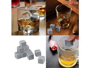 Gently Cool Ice Cube Rock Natural Whisky Stones Rock Beer Juice Water Cooler For Wedding Party Bar Home 9Pcs/lot