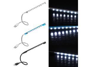 5V USB LED Reading Light Lamp Flashlight  Flexible Mini For Laptop PC Computer Keyboard High Quality