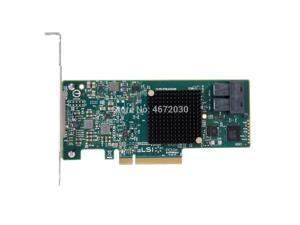 Broadcom Avago LSI SAS 9300-8i LSI00344 8 port Host Bus Adapter SFF8643 NO cache HBA PCI-E3.0 x8 Controller Card