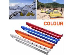 35cm Aluminum U-Shaped Tent Nail Tent Stakes Snow Peg Sand Peg for Outdoor Camping Hiking Beach Tent Accessories