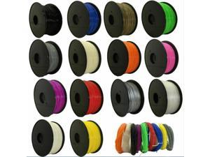 3D Printer  Silk Texture Feeling Gold  1kg Silky Rich Luster PLA 3d Printing Materials 13 color Filament