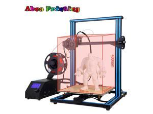 HOT SALE 3D Printer kit A-10S with Dual Z-axis - Aluminum Hot Bed - LED Display
