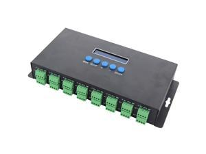 Bc-216 Zwei Port 16 Kanäle Artnet Zu Spi/Dmx Ws2811 Ws2812B Sk6812 2801 8806 Led Pixel Controller 340Pixel 16Ch Dc5V-24V