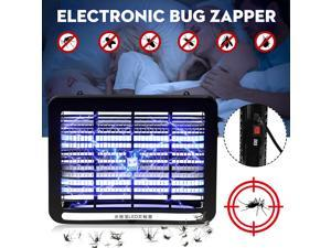 220V 2W Electronic Indoor Mosquito Insect Killer LED Light Electric Bug Zapper Lamp Anti Mosquito Fly Household Trap Pest Contro