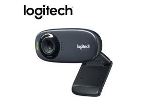 Logitech C310 Webcam HD Video 720P Webcam Built-in Microphone USB2.0 Mini Computer Camera for PC Laptop Desktop
