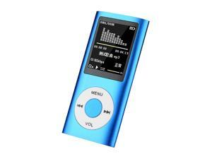 """Classic MP3 MP4 Player with 1.8"""" LCD HD Video Card Support Various Languages Music Video Media Player FM Radio Built-in Mic"""