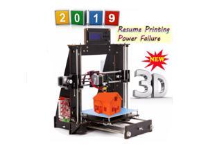 2019 BEST OFFER  3D Printer Prusa i3 Reprap MK8 LCD Controller DIY Kit w/PLA  3D Printer Prusa  Resume Power Failure Printing
