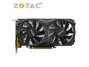 ZOTAC Video Card GTX 1050Ti 4GB GPU Graphics Cards Map for GeForce nVIDIA GTX1050 4GD5 128Bit Videocard PCI-E X16 HDMI