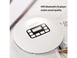 Anti Skip LED Display Portable Wireless Adults Bluetooth CD Player Listenning Music For Kids Headphone Jack Gift Students Home