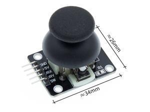 50PCS KY-023 PS2 Game Joystick Axis Sensor Module for DIY Starter Kit