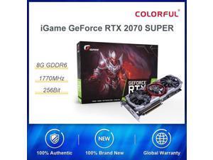 Bunte iGame GeForce RTX 2070 SUPER Grafik Karte Erweiterte OC Nvidia GDDR6 256bit GPU 8G RTX2070 Video Karte HDMI spiel Computer