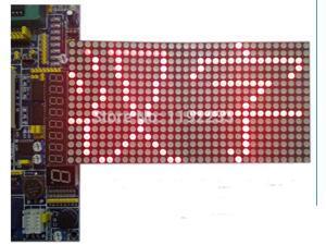 5pcs/lot 16X16 LED Dot Matrix Chinese Characters Screen LED Module MCU Development Board