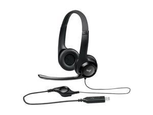 Logitech H390 USB Wired Stereo Gaming Headphone Line Control Music Headset with Noise Canceling Microphone for Computer