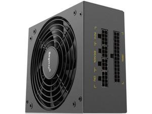 M600G black gold sfx power supply rated 500w gold brand full module mini power supply