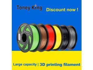 Toney King 3D Printer Filament 1.75mm 1KG PLA ABS Nylon Wood TPU PETG Carbon ASA PP PC 3D Plastic Printing Filament