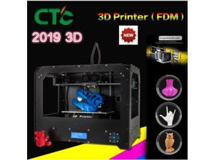 The Committee against terrorism 3D printer two nozzles black on  Rep 3D double nozzle double spray nozzle printer