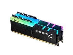 G.SKILL TridentZ RGB Series Memory Ram DDR4 16GB (2 x 8G) 3200MHz 1.35V F4-3200C16D-16GTZ For Desktop Computer