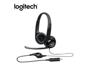 Logitech H390 USB Wired Stereo Gaming Headphone Line Control Music Over-Ear Headset with Noise Canceling Microphone for Computer