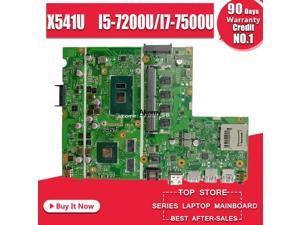 Laptop Motherboard Für ASUS F541U R541u X541U X541UV X541UVK Mainboard 8G/4G RAM I5-7200U/I7-7500U (v2G) austausch