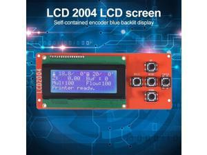 20X4 Display Board LCD 2004 Screen Module Blue Screen Practical Plug and Play on Ramps 3D Printer RAMPS Parts 170x90x15mm