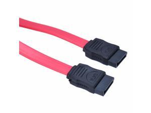 Mayitr 5Pcs Serial ATA SATA RAID DATA HDD Hard Drive Cable Red 40cm High Quality SATA Data Cable 1.5 Gbps Speeds New