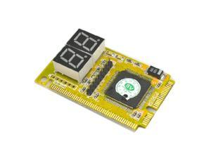 SAUJNN 4Digit PC Computer Diagnostic Card Motherboard Mainboard Post Tester PCI ISA Drop Shipping