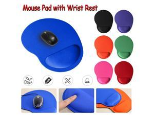 Soft EVA Mouse Pad Anti-Slip Wrist Protect Support Optical Trackball PC Thicken Rest Mouse Pad Comfort Mouse Pad Mat Mice for PC