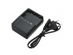 Mayitr Professional LC-E6E Camera Battery Charger + Power Cable 60cm For Canon LP-E6 5D Mark II III 7D 5D2 5D3 7D 60D 6D
