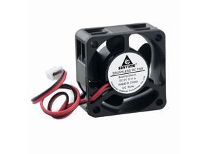 Huilier 25/×25/×7mm DC 5V 12V 2-Pin Cooler Brushless Chipset Heatsink Mini Cooling Fan 2507