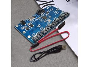 USB3.1 to eSATA Adapter Support Port Multiplier for JMicron Chipset Enclosure DATOptic eS3U31