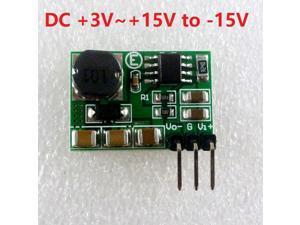 180mA 3-15V to -15V DC-DC Step-up & Step-down +/- Voltage Converter Module Board