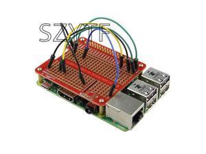 Exklusive HUT gold tunnel platte DIY löten kit für Raspberry Pi 3