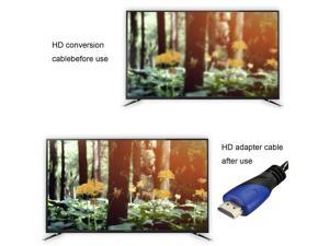 LESHP Blue-Black 2/3/10 Meter Durable Portable High Speed HDMI Cable with Ethernet Supports 3D & Audio Return Channel