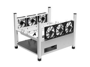 BX36 6GPU Open Air Mining Rig Frame Miner Case Drawer Style Crypto Coin for 6 Fans Computer Mining Case Frame Server Chassis