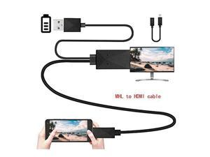 Universal Android Phone MHL Micro USB to HDMI 1080P HD TV Cable Adapter