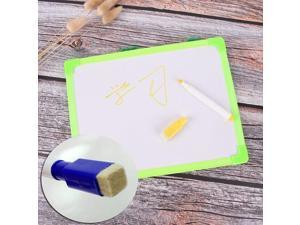 1 Pcs 18.5cm*24.5cm Writing Tablet Kids Whiteboard Dry Wipe Board Mini Drawing Small Hanging Board With Marker Pen