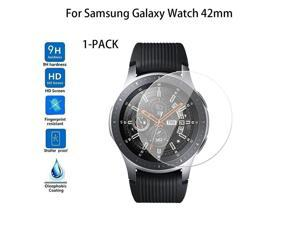 1-PACK  42mm Tempered Glass Screen Protector For Samsung Galaxy Watch J.22