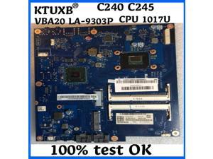 VBA20 LA-9303P 90003557 for Lenovo AIO C240 all-in-one computer motherboard CPU 1017U DDR3 100% test work