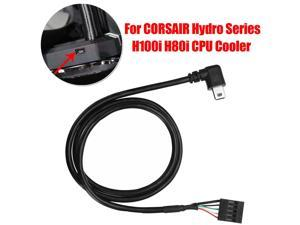 CPU Cooler Pump Speed USB Cable USB Interface Cable For CORSAIR Hydro Series H100i H80i Light Adjustment Line Cables