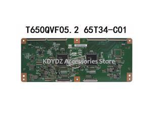 Good test  T-CON board for LED65K720UC T650QVF05.2 65T34-C01 screen HD650FU-B51