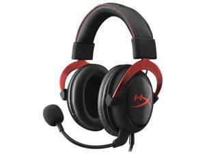 Kingston HyperX Cloud 2 Headphones for PC,Mac,PS4, Xbox One 3.5mm Wired 7.1 Virtual Surround Gaming Headsets for PUBG LOL Game