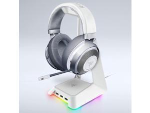 Razer Earhook Headphones Base Station Chroma Gorgeous Lighting Headset Stand Headphone Bracket Holder with 3 USB Hubs