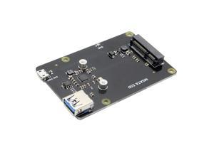 X850 mSATA SSD Hard Disk Storage Expansion Board for Raspberry Pi Support USB 3.0 Expansion Board For Raspberry Pi 3 Model B/ 2B