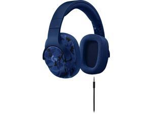 Logitech G433 7.1 Wired Gaming Headset with DTS Headphone: X 7.1 Surround for PC, PS4, PS4 PRO, Xbox One, Xbox One S, Nintendo Switch – Camo Blue (Camo Blue)