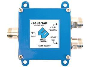 1 - 10dB Tap with 0.5dB Pass Thru with N Female Connectors, -10dB tap, 700MHz - 2,300MHz, 859907