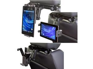 Navitech in Car Back of Seat Head Rest Mount Compatible with The Lenovo IdeaPad A1